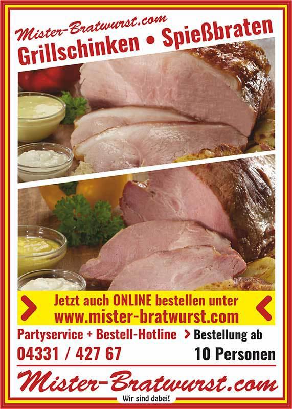 Mister Bratwurst Imbissbetriebe Partyservice - Mittagstisch